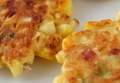 Yummy Corn Fritter recipe from Cape Abilities!