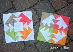 Gen X Quilters - Quilt Inspiration | Quilting Tutorials & Patterns | Connect: Vice Versa Block of the Month Club - June