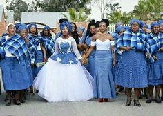 Tswana Traditional Wedding Dress Unique Sesotho Traditional Clothes for African Women S This Year African Print Dresses, African Print Fashion, Africa Fashion, African Fashion Dresses, African Dress, African Clothes, Women's Fashion, African Prints, African Style