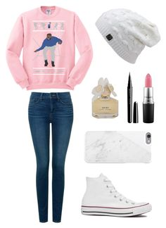"""""""Untitled #248"""" by montana-cellucci ❤ liked on Polyvore featuring NYDJ, Converse, MAC Cosmetics, Marc Jacobs, Marc by Marc Jacobs and Native Union"""