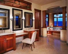 Bathroom designed by Vaught Frye Larson Architects from Fort Collins, Colorado.
