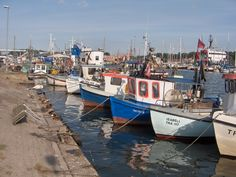 fishermen´s #harbour, Lübeck-Travemünde - 1974 ferry nach Malmo