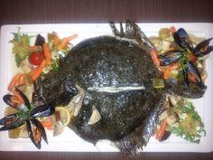 Flat-Fish a la Cassis