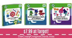 HUGE SAVINGS!! LeapFrog Leapstart Activity Books Starting at $7.99 (Originally $13) at Target! Activity Books, Book Activities, Target Deals, Accounting, Math, Math Resources, Mathematics