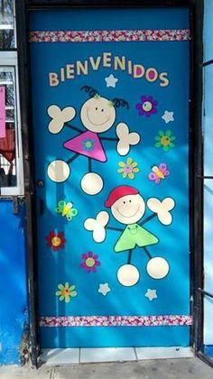 Risultati immagini per portas decoradas de natal Classroom Door, Classroom Organization, Art School, Sunday School, Welcome To School, Diy And Crafts, Crafts For Kids, School Doors, Board Decoration