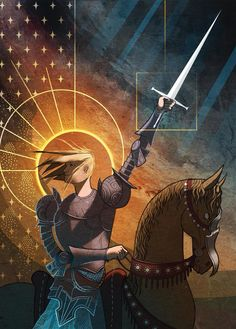 Joan of Arc by artist James Gifford