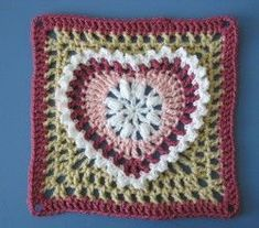 Grandma's Heart Square by Carola Wijma