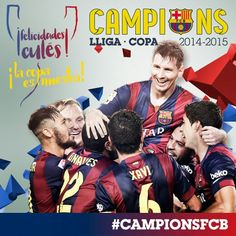 Barca Fc Barcelona, Barcelona Futbol Club, Athletic Clubs, Neymar Jr, Champions, Messi, Congratulations, Soccer, Baseball Cards