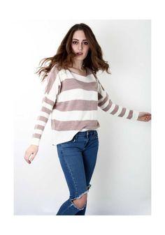 Τοπ Basic Stripes Καφέ, 26,00€. Bell Sleeves, Bell Sleeve Top, Stripes, Women's Fashion, Tops, Fashion Women, Shell Tops, Womens Fashion