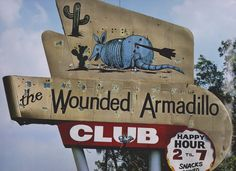 The Wounded Armadillo club Texas