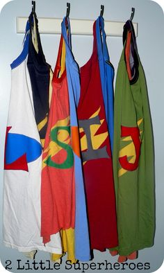 DIY Superhero Capes.
