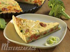 Zöldséges pite (pie) recept