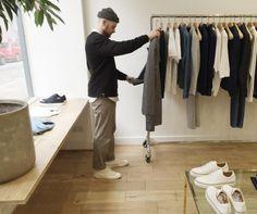 ASOS Instagrammer Oliver visits the Natural Selection flagship store.