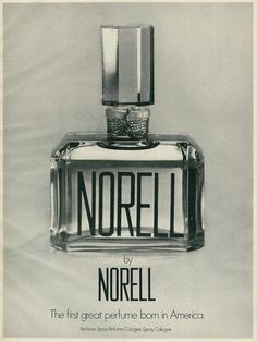 1973 Ad, Norell Fragrance, by Norell | by classic_film
