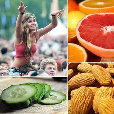 Music Festival Healthy Snack Ideas. I have to eat something besides Amish donuts this year!