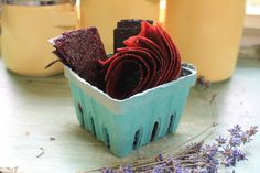 Seasonal Fruit Leather without a dehydrator via The Sweet Life