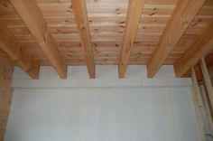 houtskeletbouw houten plafond - Google zoeken