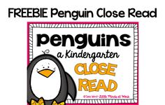 FREEBIE Penguins nonfiction close read