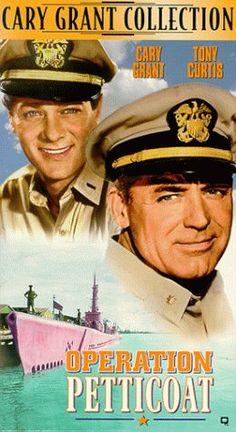 Operation Petticoat-loved it...filmed in Key West...got to watch those wonderful stars