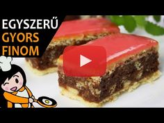Békebeli puncsszelet - Recept Videók - YouTube Make It Yourself, Cake, Desserts, Recipes, Youtube, Food, Drink, Pie Cake, Tailgate Desserts