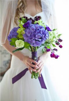 Colorful Wedding Bouquet - One and Only Paris Photography