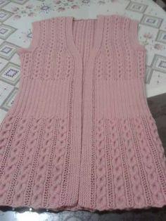 Modesty Vest Top pattern by maybebaby designs Easy Crochet Patterns, Baby Knitting Patterns, Knitting Stitches, Knitting Designs, Crochet Woman, Knit Crochet, Raglan Pullover, Knit Cardigan Pattern, Yarn Shop