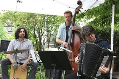 At Porchfest, Grand Fatilla played music ranging from Argentine Tangos to Italian Tarantellas to Turkish sacred Sufi songs to Irish reels.