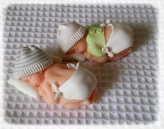 Bébés en porcelaine froide faite maison