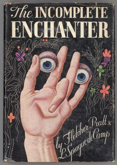 the incomplete enchanter, with cover art by boris artzybasheff