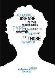 Alzheimer's Society campaign by Hannah Flood #alzheimers #tgen #mindcrowd www.mindcrowd.org