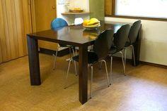 Imagen extensible mesa de comedor con extra Pierna de habitaciones