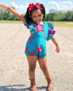 Children's African Dresses