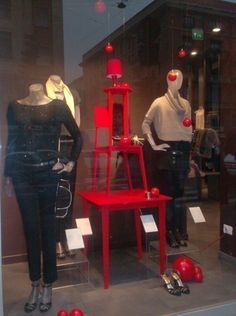 """PROMOD,""""Christmas on a Budget"""" (the color red helps), pinned by Ton van der Veer"""