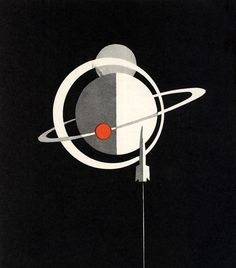 Vintage Space Illustration 1967