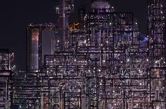 조춘만, <석유화학>, 화이버베이스 잉크젯프린트, 110x165cm, 2014