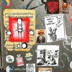 @Regrann from @dave_selly_clark -  thank you @itsherve for taking my stickers to Blackpool! #stickers #stickerart #streetart #rsa_preciousjunk #doorporn #be_one_urbanart #wallfilth #tv_streetart #urbanart #urbanphotography #notbanksyforum #photooftheday #capturingbritain #blackpoolstreetart