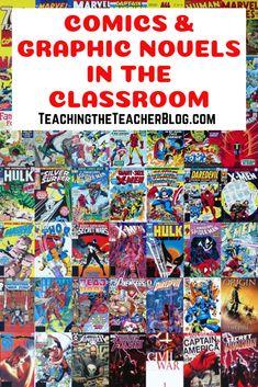 Genre Study: Comic Books  Graphic Novels – Teaching the Teacher