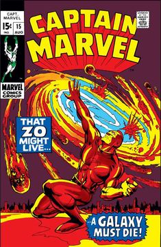 Captain Marvel #15 - That Zo Might Live, a Galaxy Must Die!