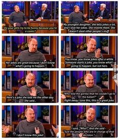 14 Excellent Parenting Tips From Louis CK