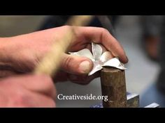 Forging Components for Jewelry with Nile Fahmy - YouTube