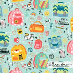 Belinda Sigstad/Bellenna Elm Studio - Spoonflower backpack competition -  http://www.spoonflower.com/designs/3386239