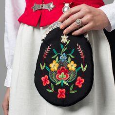 Balsfjord Bunad Embroidered Bag