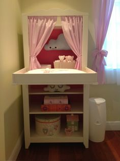 Pelenk z asztal on pinterest changing tables corner - Table a langer hensvik ...