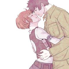 Akane and Kogami // PP