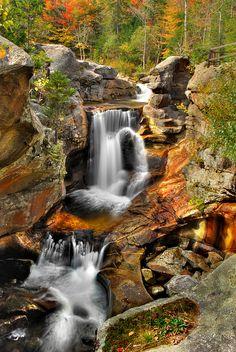 Screw Auger Falls - Maine [photo by VermontDreams, via Flickr]