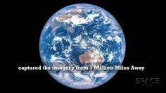 Une vue de l'espace exceptionnelle de l'ombre lunaire traversant la Terre