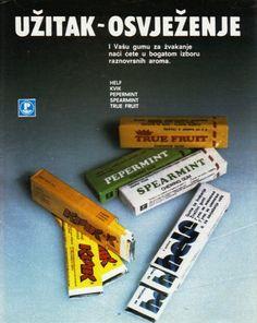 Pliva - 1980-tih - plakat - žvake