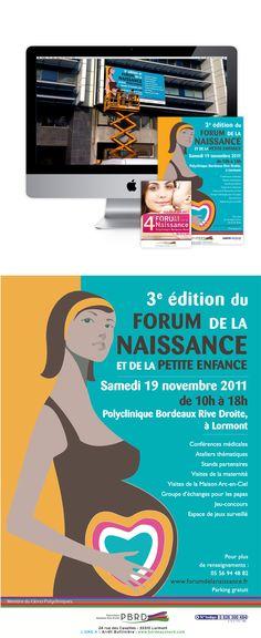 Forum de la Naissance et de la petite Enfance - Organisation d'événement