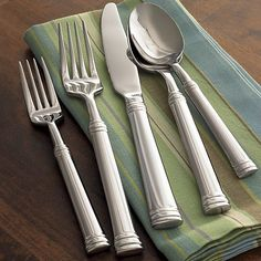 Tuscany 5-Piece Placesetting in Top Flatware | Crate and Barrel