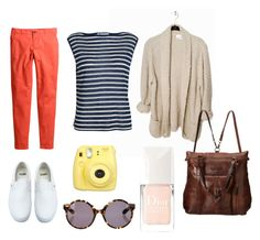 SanFran_Saturday by astoldbyalaina on Polyvore featuring T By Alexander Wang, H&M, Frye, Proenza Schouler, Vans and Christian Dior